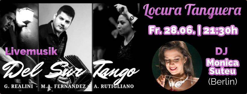 Tango Argentino Milonga Live Musik Tanzen Koeln Workshops Sommer