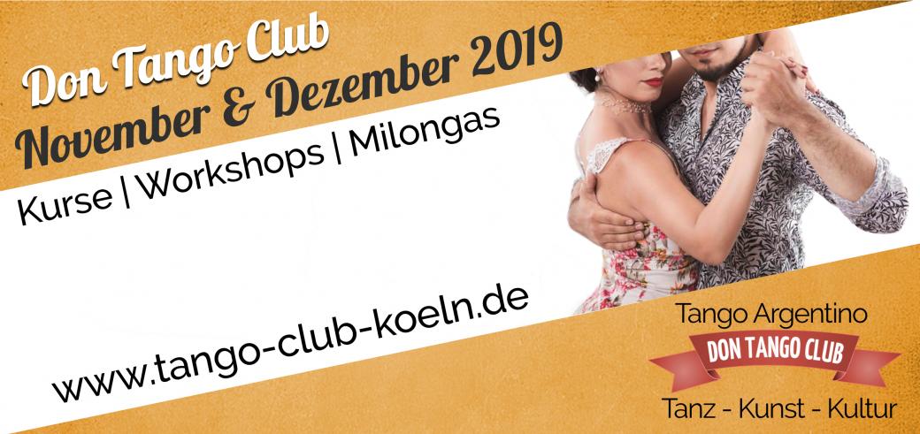 Tango Argentino Koeln Neue Kurse November Oktober 2019