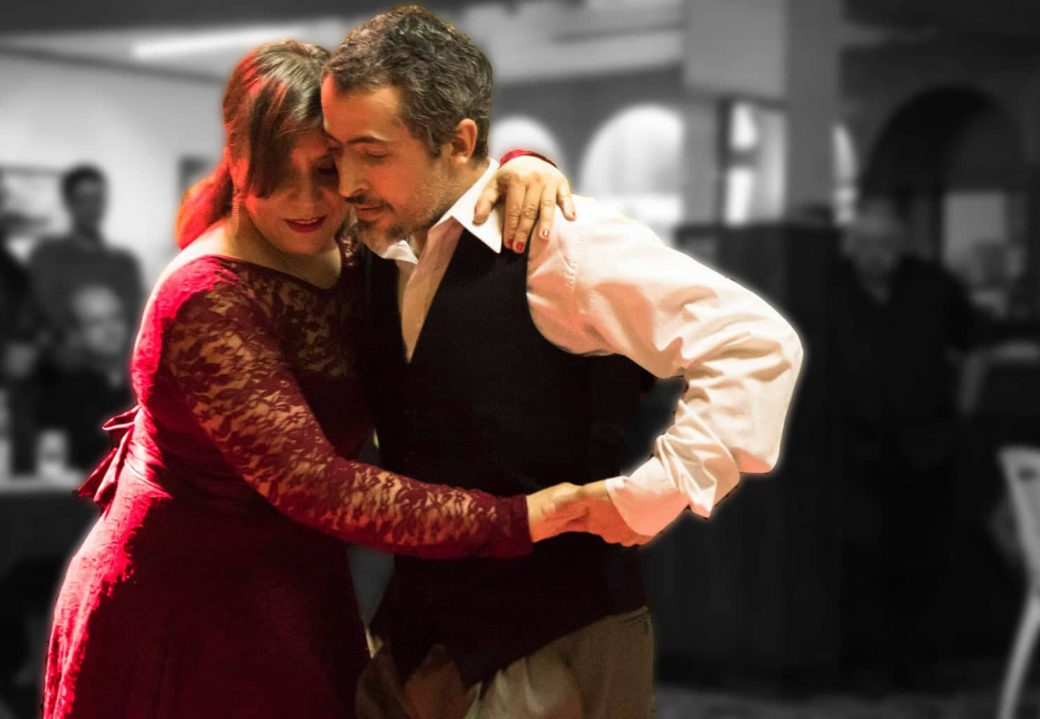 Tango Argentino Koeln Laura Gustavo Canyengue Workshop Auftritt